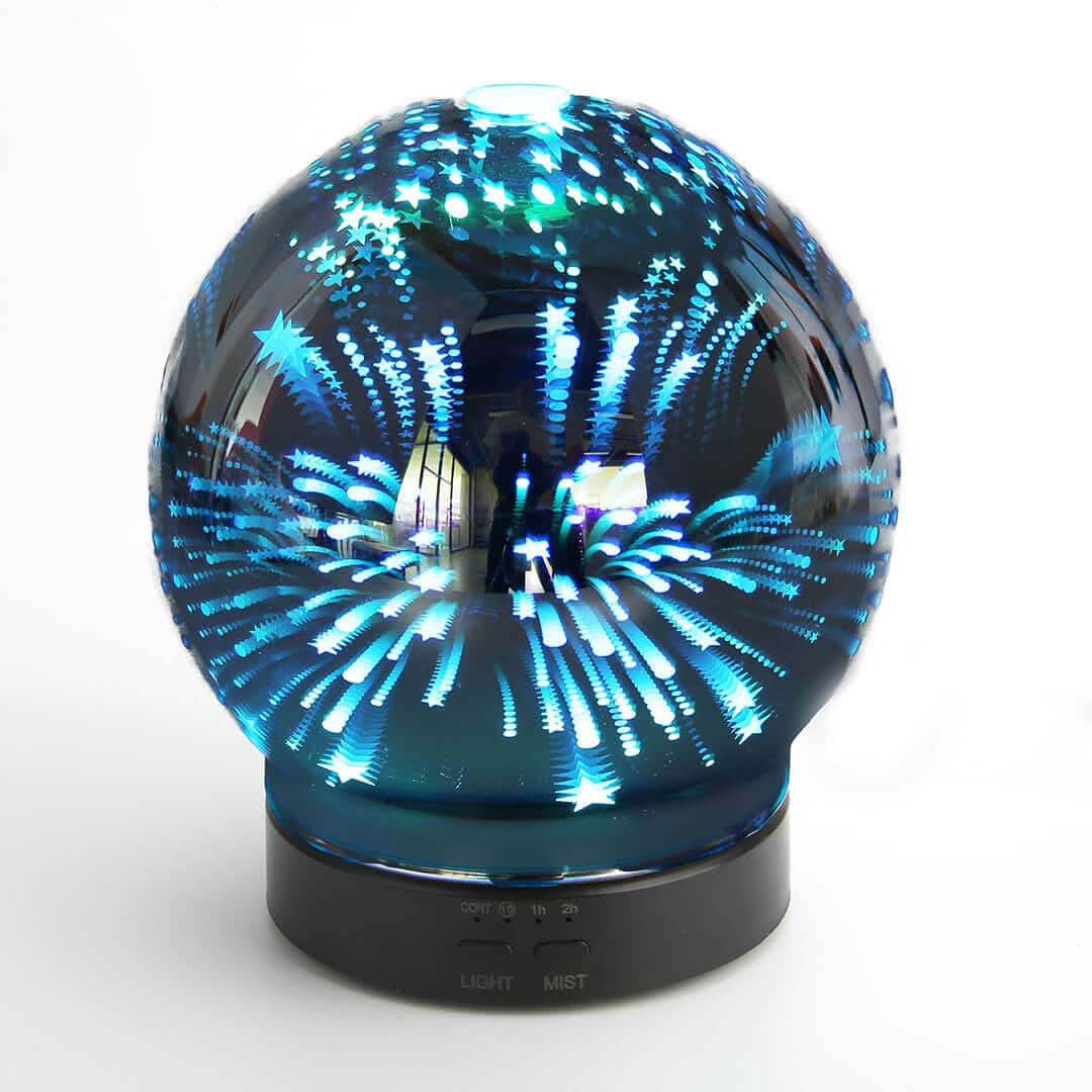 X117E- 디퓨저 -3D- 유리
