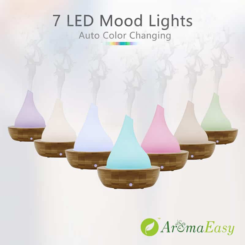 Aromis Wood And Glass Aromatherapy Diffuser