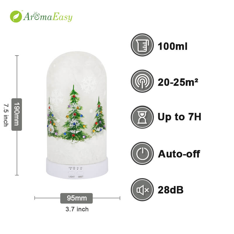 christmas tree diffuser oil