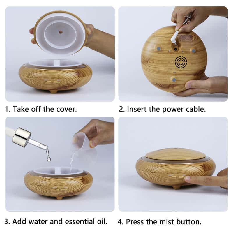 electric oil diffuser-how to use