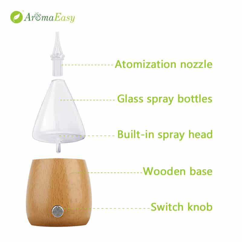nebulizer essential oil diffuser