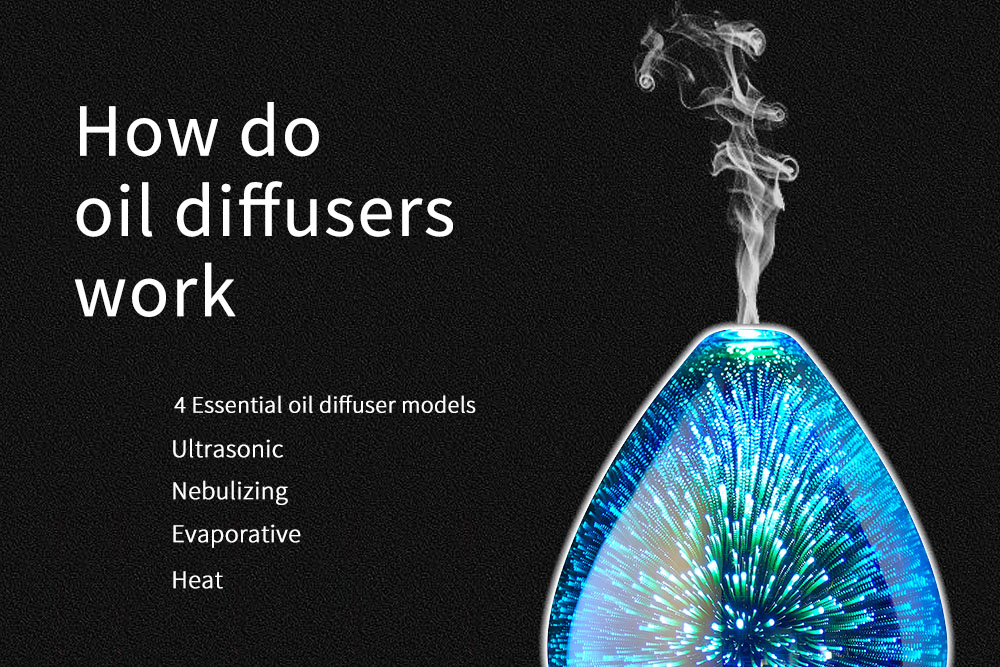 How do oil diffusers work