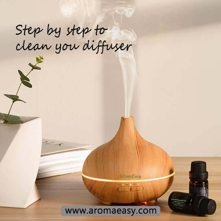 HOW TO CLEAN YOUR ESSENTIAL OIL DIFFUSER