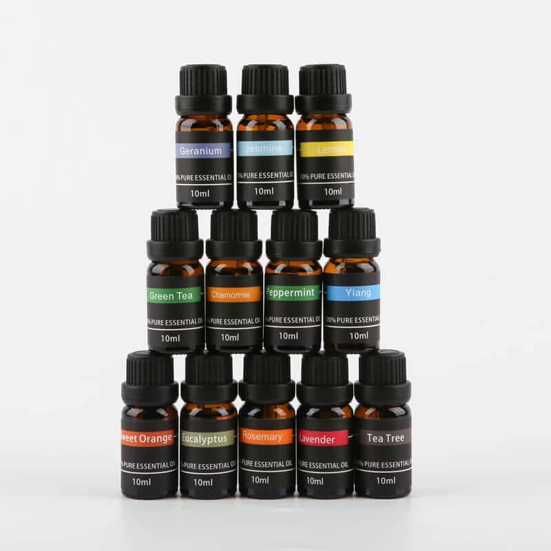 Essential oil kit x 12 bottles