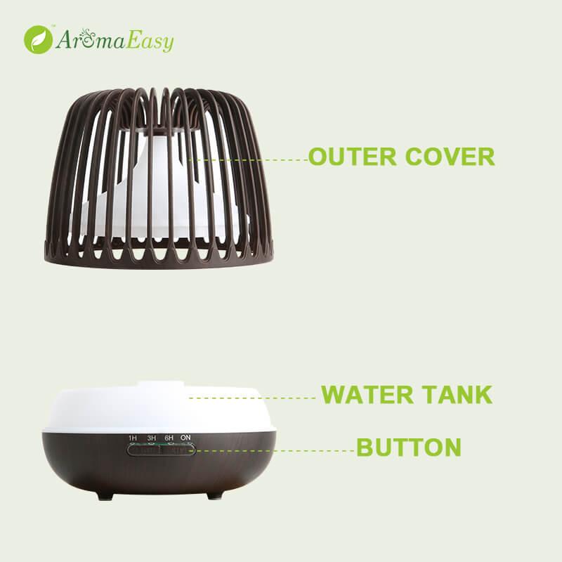 spa mist essential oil diffuser