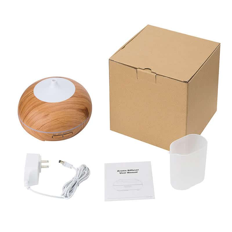wood essential oil diffuser