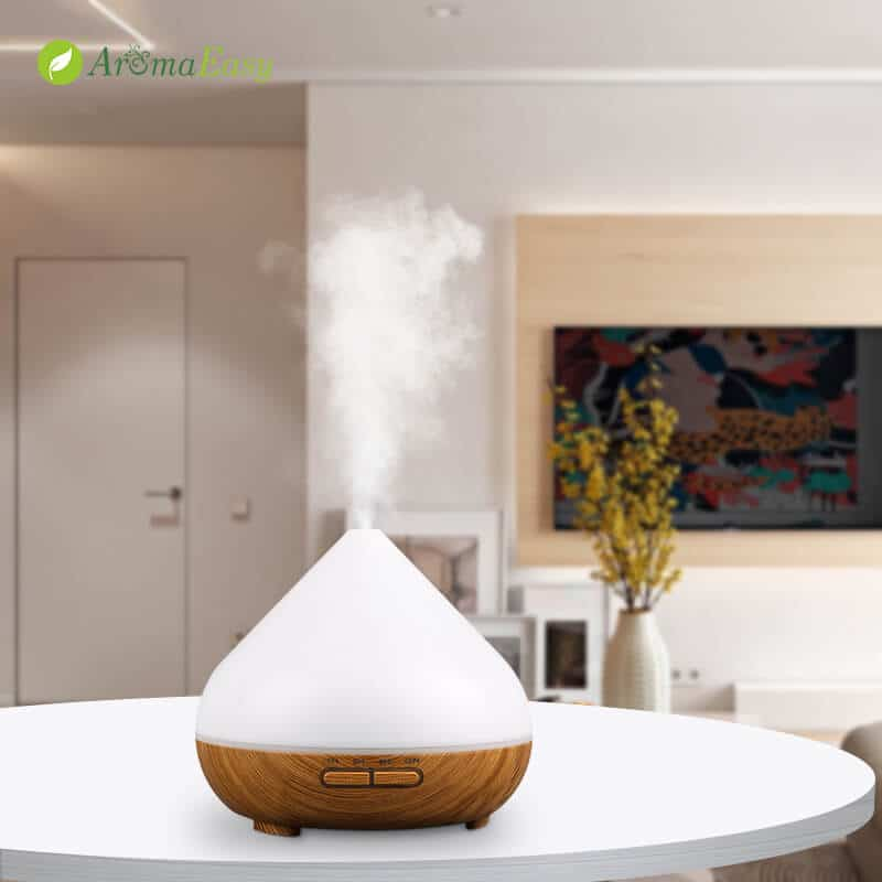LED ultrasound essential oil diffuser