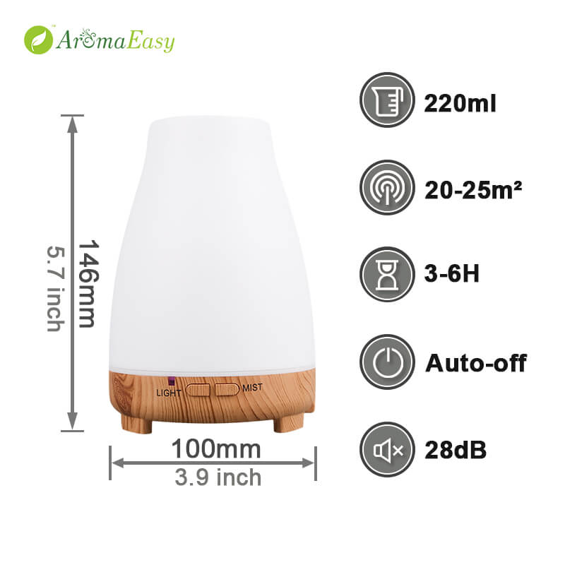 LED usb oil diffuser