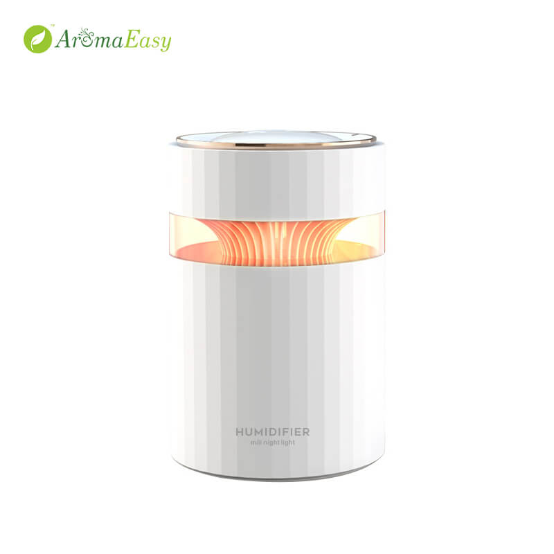 Soothing Glow Cool Mist Humidifier White